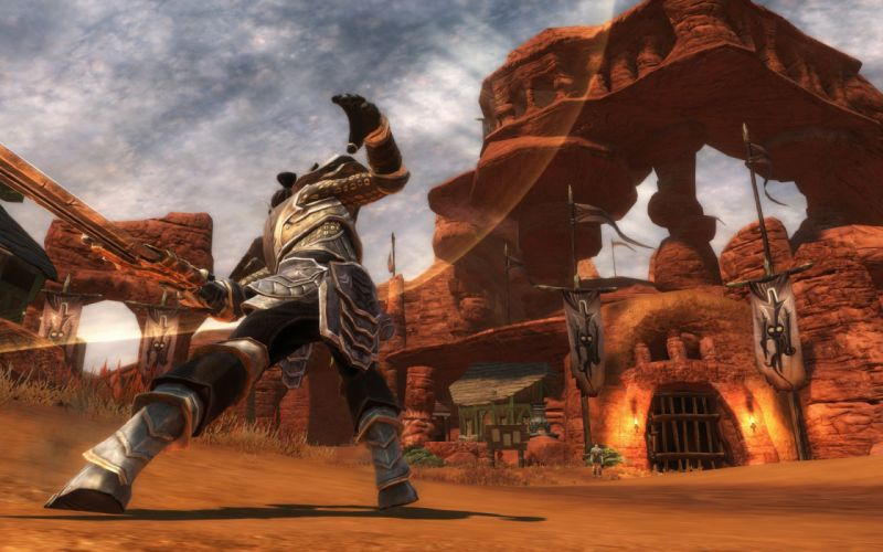 KINGDOMS OF AMALUR fantasy action rpg fighting wallpaper