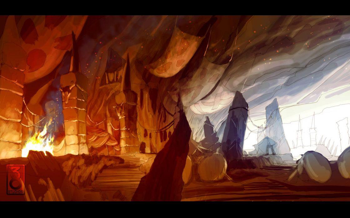 KINGDOMS OF AMULAR COPERNICUS rpg action fighting fantasy wallpaper