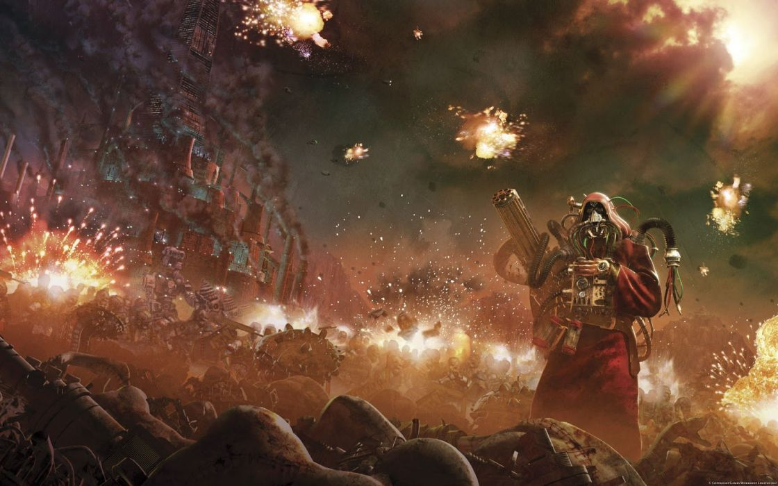 HORUS HERESY Warhammer 40k board game sci-fi wallpaper