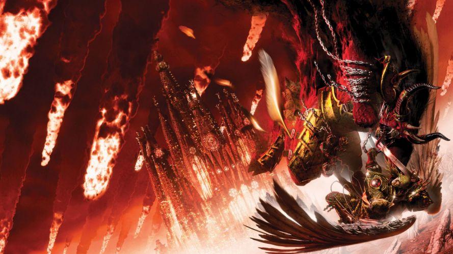 HORUS HERESY Warhammer 40k board game sci-fi wallpaper