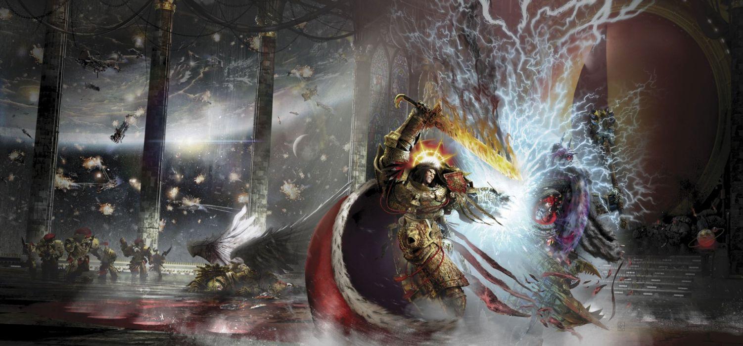 Horus Heresy Warhammer 40k Board Game Sci Fi Wallpaper