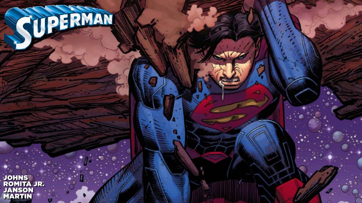 New 52 Superman wallpaper