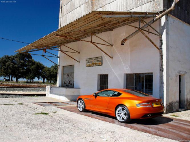Aston Martin Virage 2012 coupe supercars v 12 wallpaper