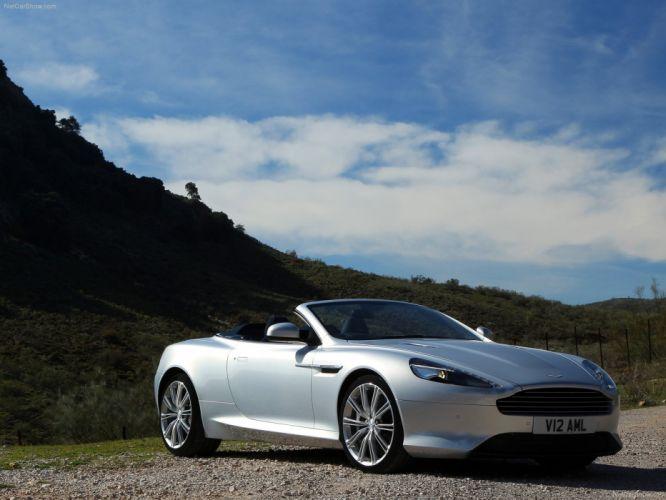 Aston Martin Virage Volante convertible 2012 wallpaper