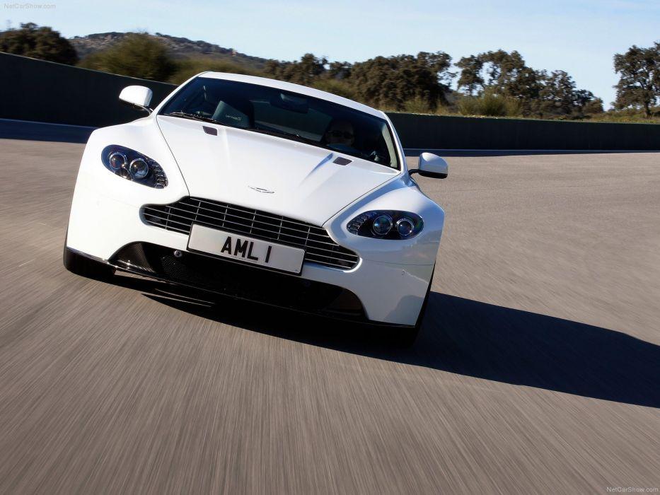 Aston Martin V8 Vantage S 2012 supercar coupe wallpaper