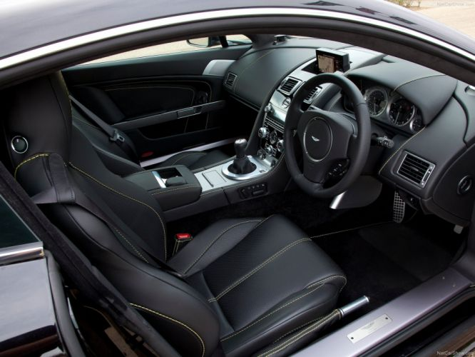 Aston Martin V8 Vantage 2012 coupe supercars interior wallpaper