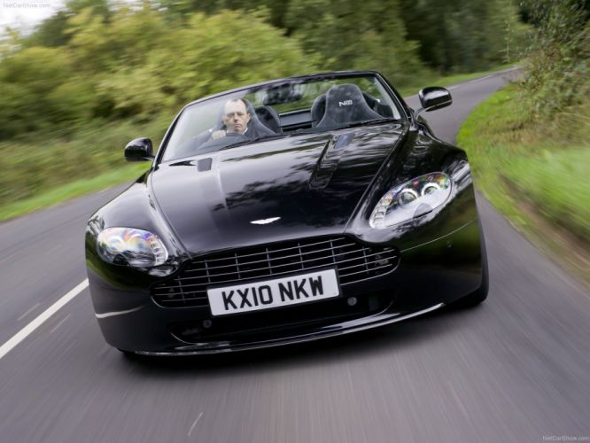 Aston Martin V8 Vantage N420 Roadster 2011 convertible supercars wallpaper
