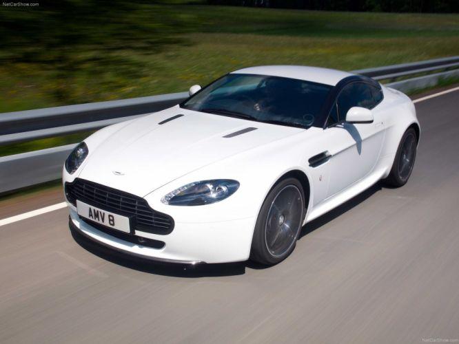 Aston Martin V8 Vantage N420 coupe 2011 convertible supercars wallpaper