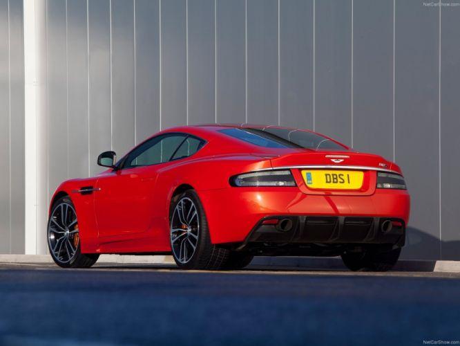 2011 Aston Martin DBS Carbon Edition coupe wallpaper