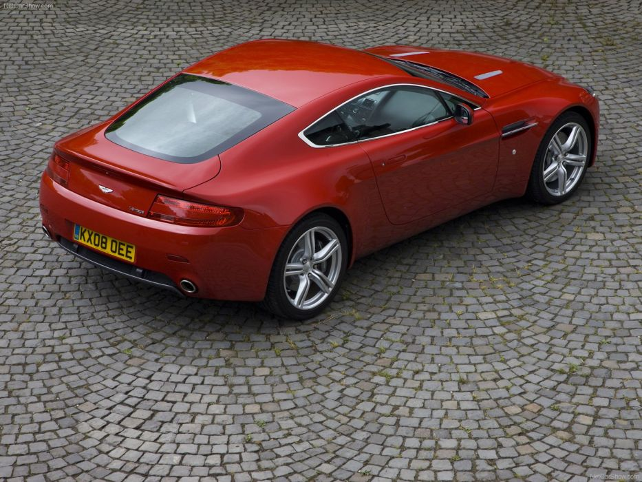 Aston Martin V8 Vantage 2009 coupe supercars wallpaper