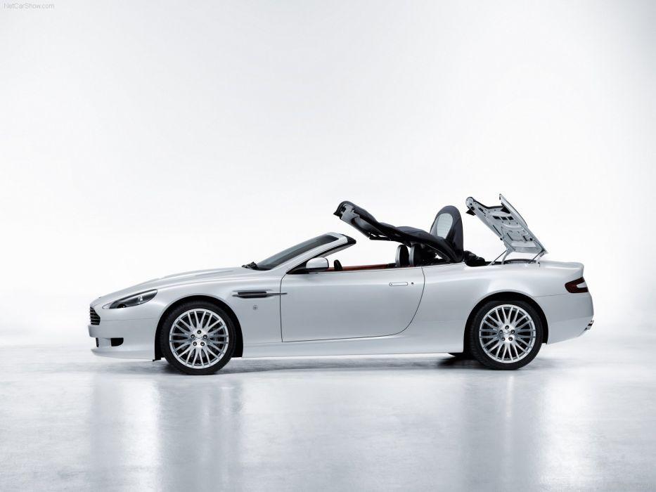 Aston Martin DB9 Volante convertible 2009 wallpaper