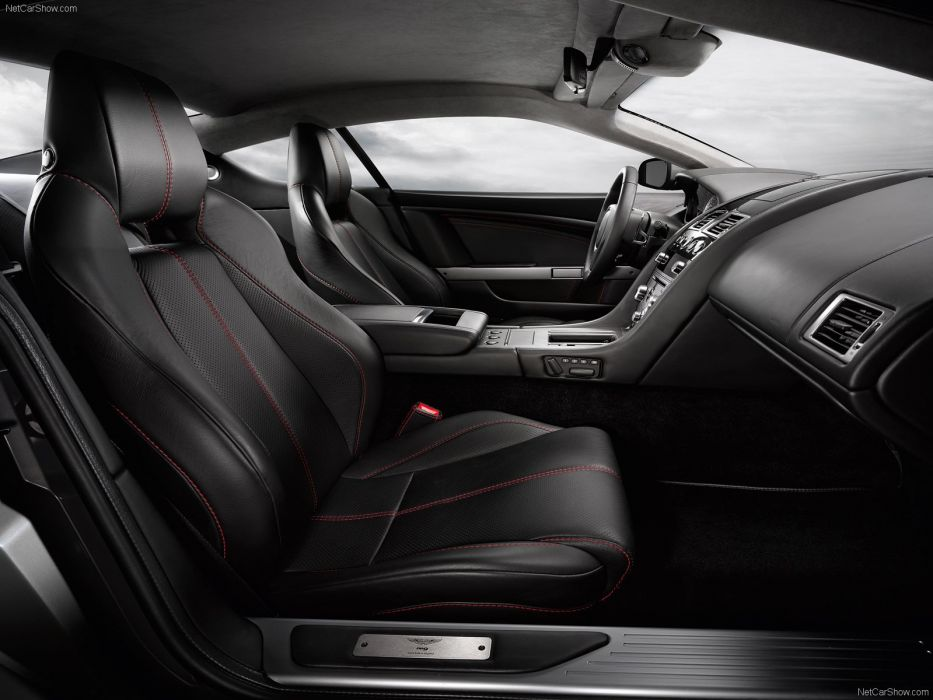 Aston Martin DB9 2009 coupe supercars interior wallpaper