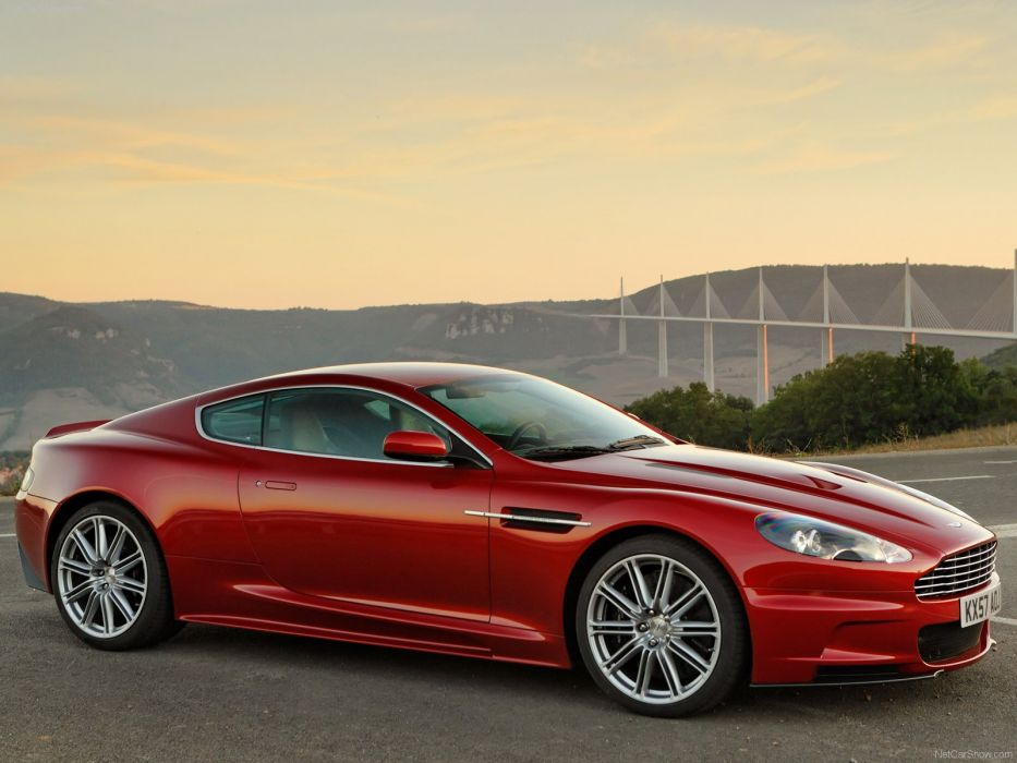 Aston Martin DBS Infa Red 2008 coupe supercars wallpaper