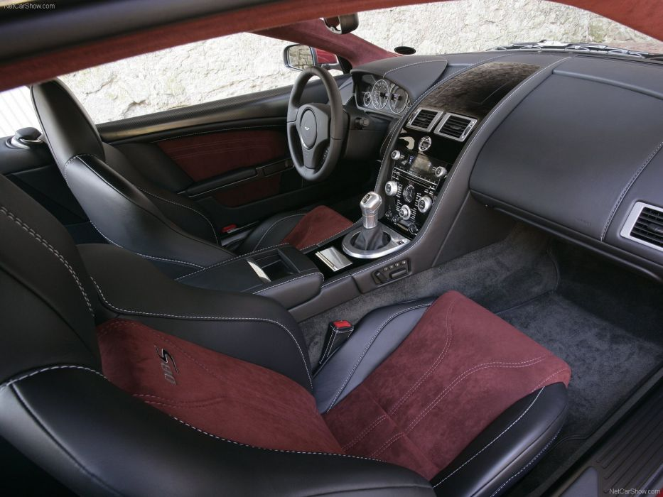 Aston Martin DBS Infa Red 2008 coupe supercars interior wallpaper