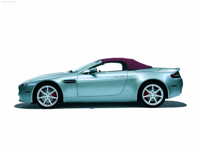 Aston Martin V8 Vantage Roadster 2007 wallpaper