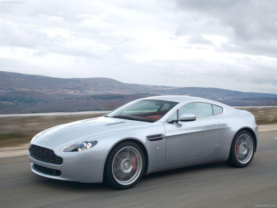 Aston Martin V8 Vantage 2007 wallpaper