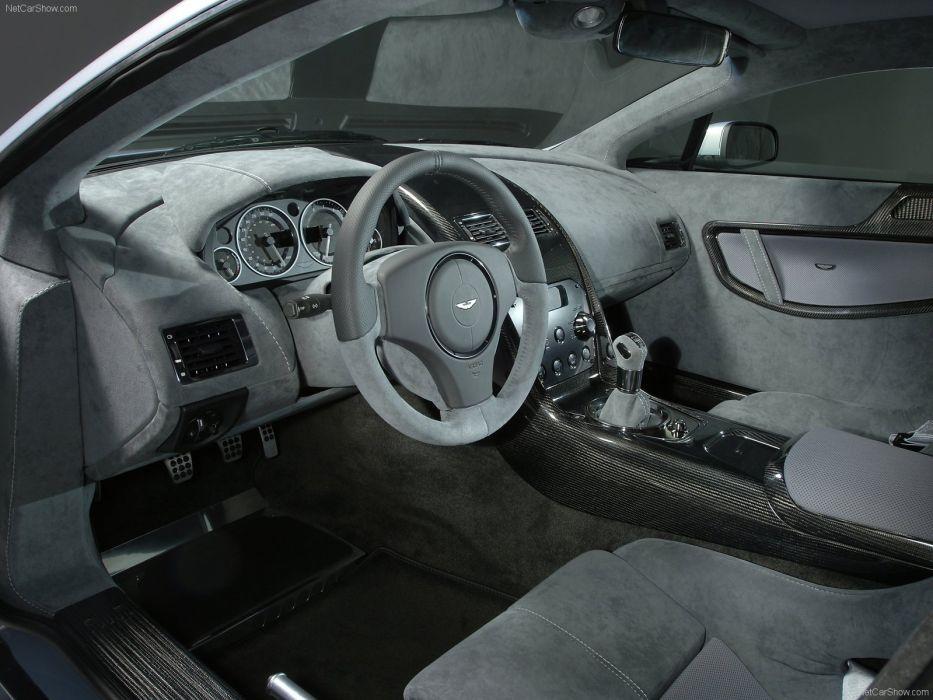 Aston Martin V12 Vantage RS Concept 2007 interior wallpaper