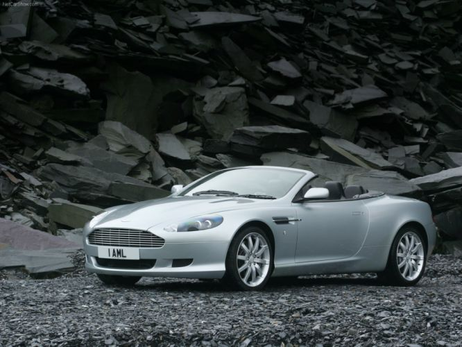 Aston Martin DB9 Volante convertible 2007 wallpaper