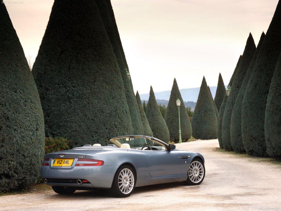 Aston Martin DB9 Volante convertible 2007 wallpaper