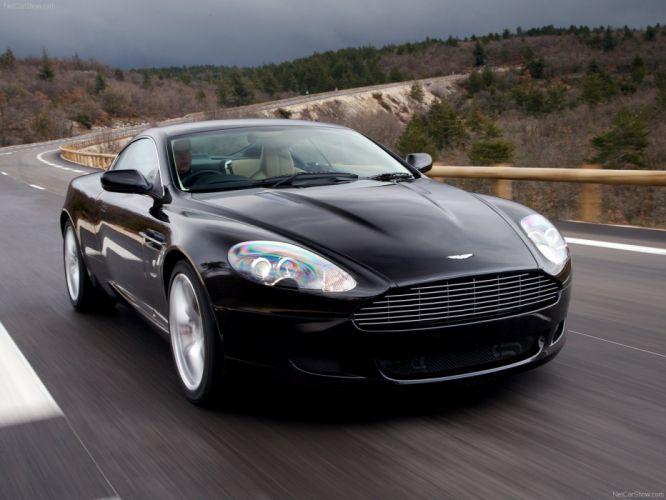 Aston Martin DB9 coupe 2007 wallpaper