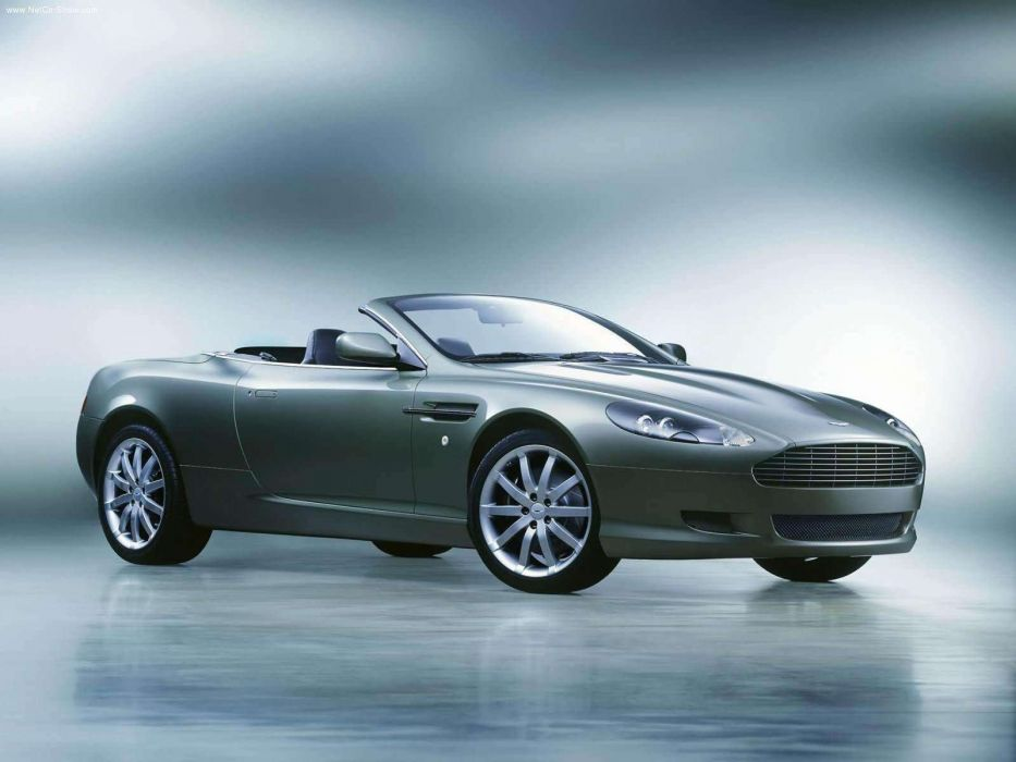 Aston Martin DB9 Volante convertible 2004 wallpaper