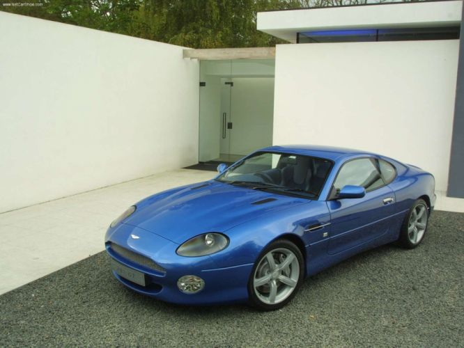Aston Martin DB7 GT 2003 wallpaper