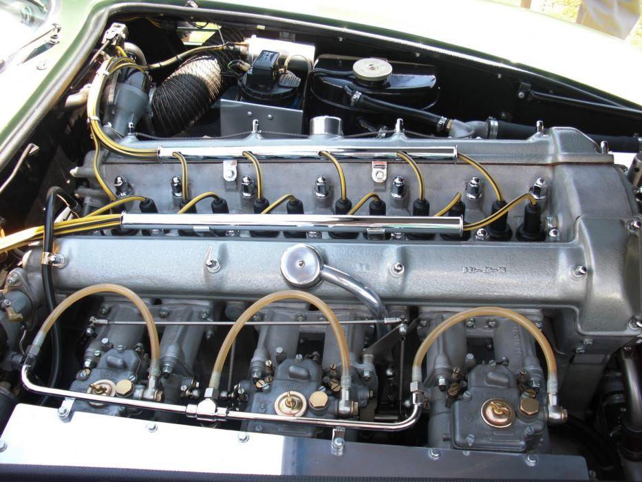 1961 Aston db4 Martin zagato engine wallpaper