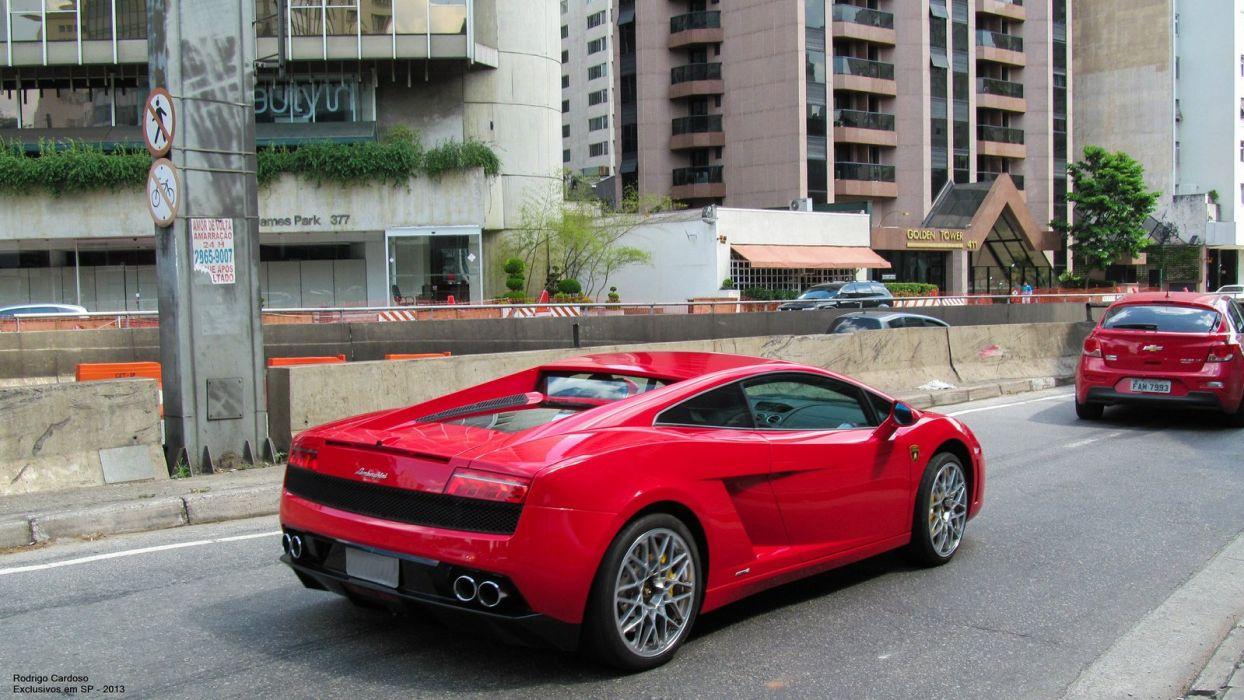 Lamborghini Gallardo LP 550-2 red supercars wallpaper