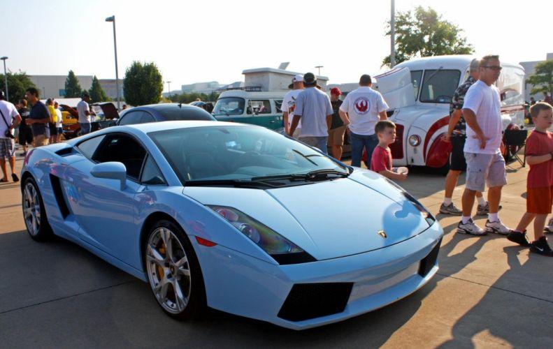 550 2 Gallardo Lamborghini blue blu supercars coupe wallpaper