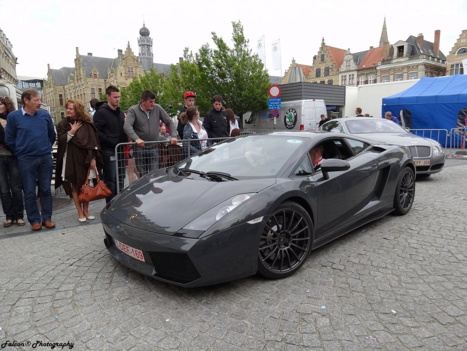 lp550 grey grigio Coupe Gallardo Lamborghini supercars wallpaper