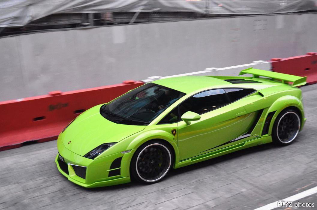 lp550 verde green vert Coupe Gallardo Lamborghini supercars wallpaper