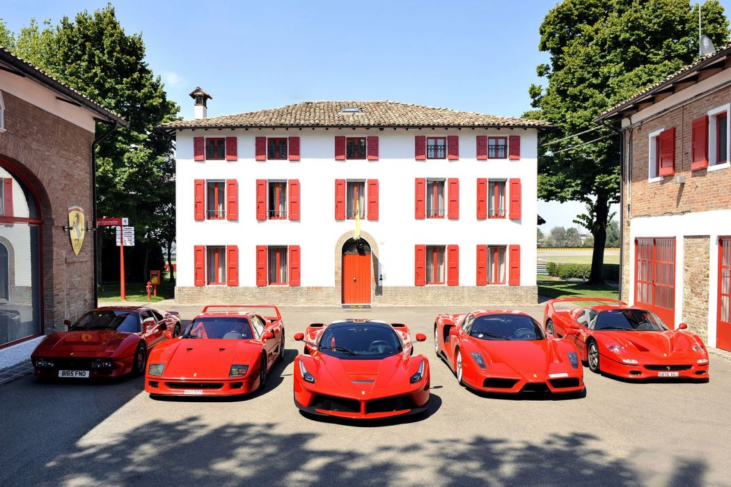ferrari red rosso collector supercars wallpaper