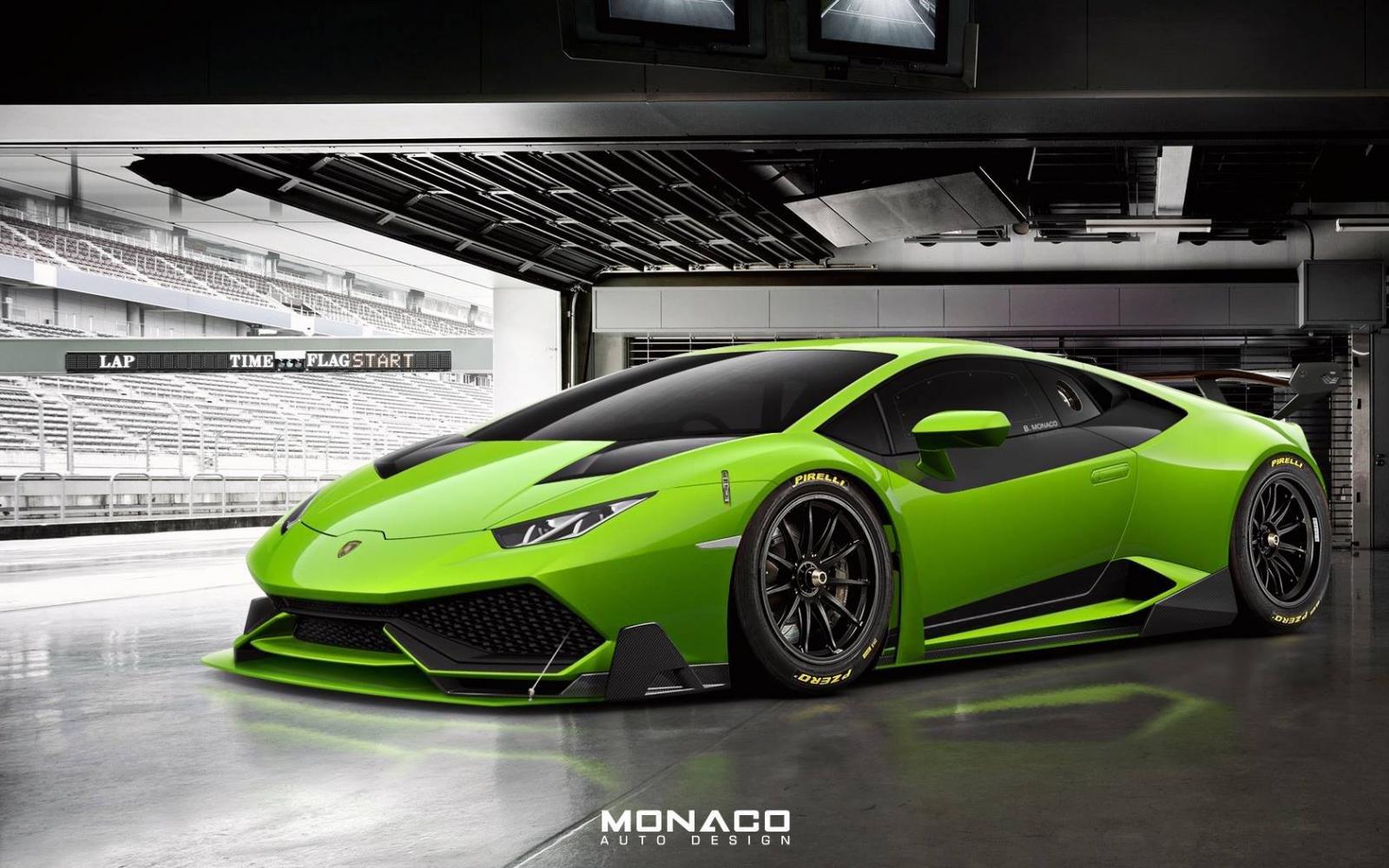 Lamborghini Huracan Super Trofeo concept wallpaper 1600x1000