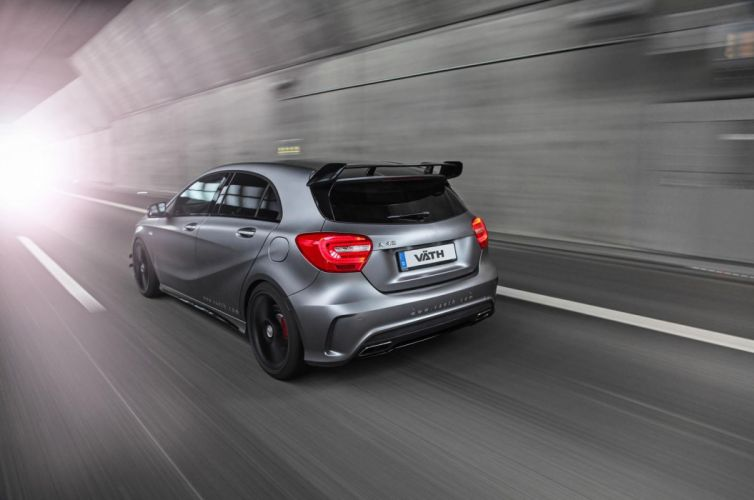 Mercedes A45 AMG tuning wallpaper