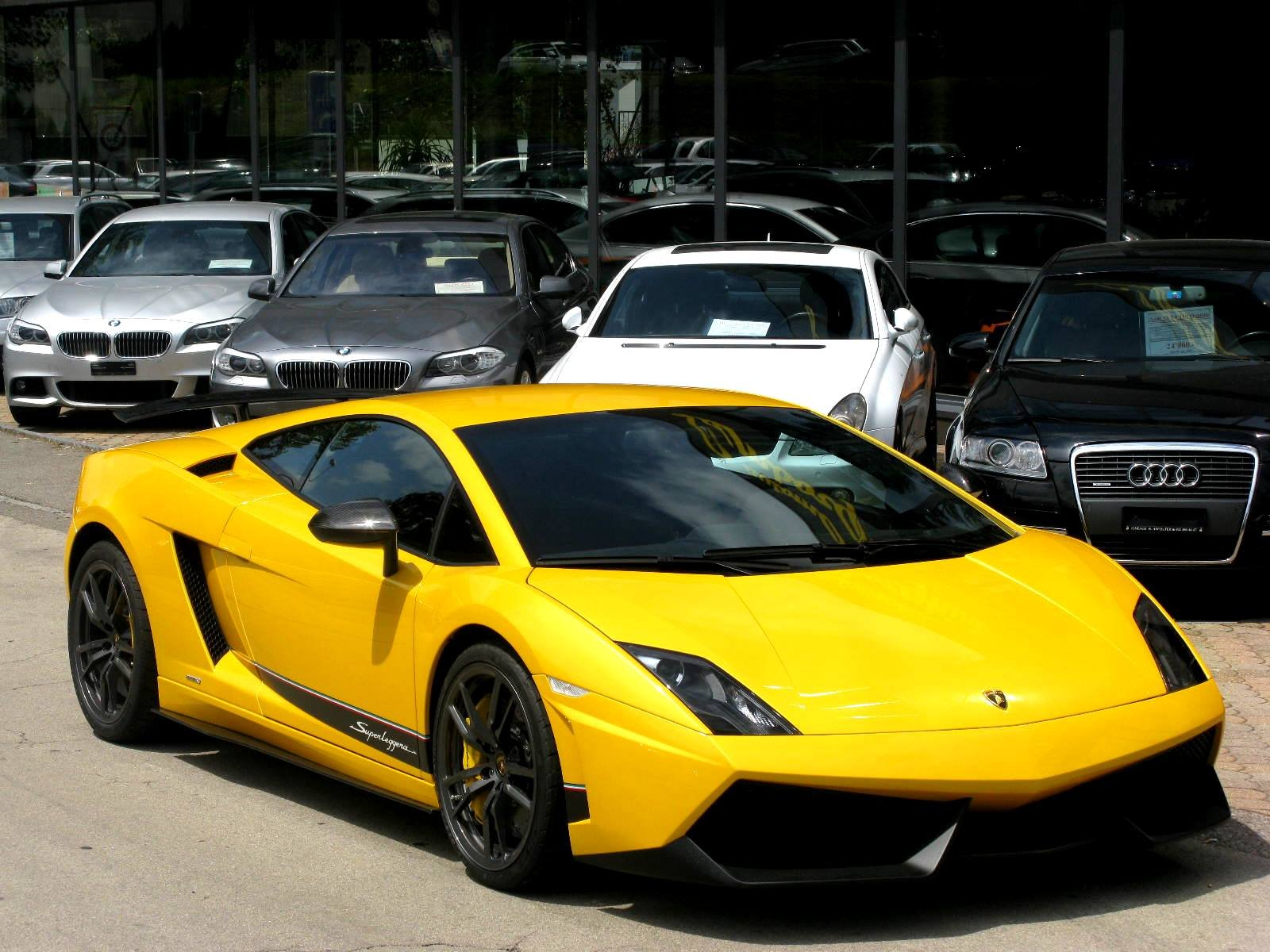 lamborghini gallardo lp570 4 superleggera italian dreamcar supercar exotic sportscar giallo jaune yellow wallpaper 1600x1200 404608 wallpaperup - Lamborghini Gallardo Superleggera Wallpaper