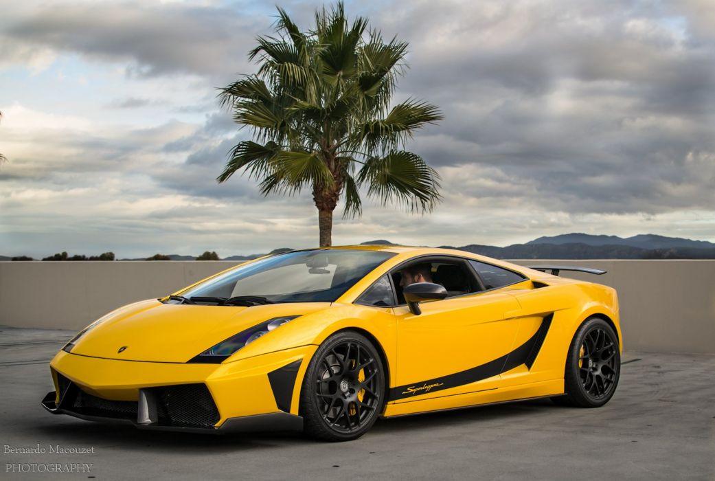 Lamborghini Gallardo lp570-4 Superleggera Italian Dreamcar Supercar Exotic Sportscar giallo jaune yellow wallpaper