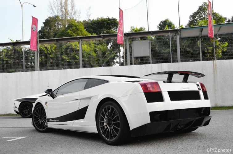 Lamborghini Gallardo lp570-4 Superleggera Italian Dreamcar Supercar Exotic Sportscar blanc white bianco wallpaper