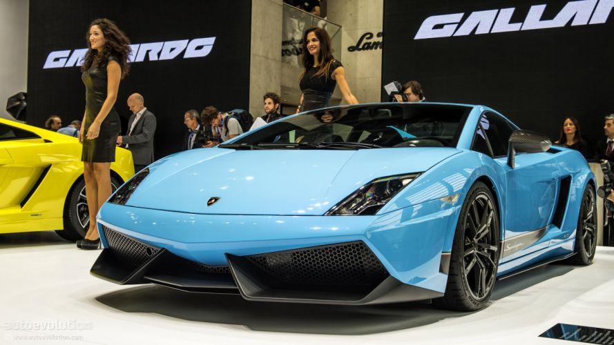Lamborghini Gallardo lp570-4 Superleggera Italian Dreamcar Supercar Exotic Sportscar bleu blue blu wallpaper