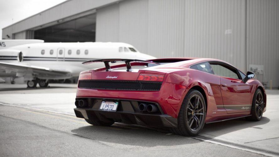 Lamborghini Gallardo lp570-4 Superleggera Italian Dreamcar Supercar Exotic Sportscar rouge red rosso wallpaper