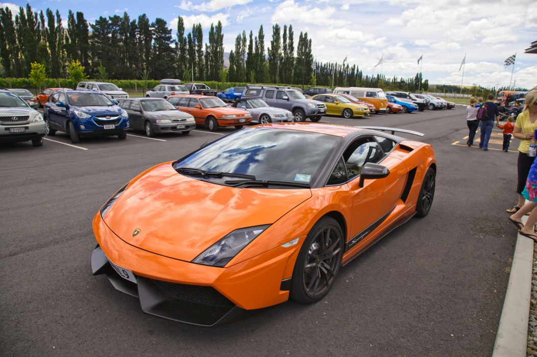 Lamborghini Gallardo lp570-4 Superleggera Italian Dreamcar Supercar Exotic Sportscar orange arancione wallpaper
