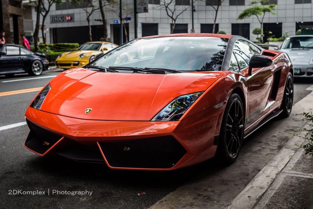 Lamborghini Gallardo lp570-4 Superleggera Italian Dreamcar Supercar Exotic Sportscar orange arancione wallpaper