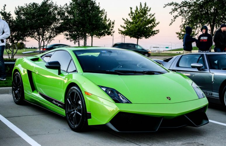 Lamborghini Gallardo lp570-4 Superleggera Italian Dreamcar Supercar Exotic Sportscar vert green verde wallpaper