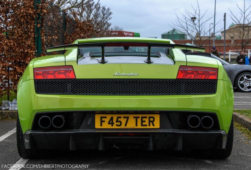 Lamborghini Gallardo lp570-4 Superleggera Italian Dreamcar Supercar Exotic Sportscar vert green verde wallpaper