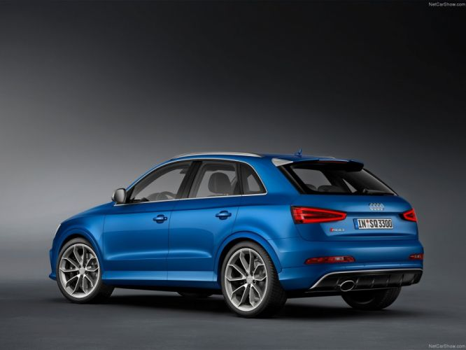 Audi R S Q 3 2014 suv bleu blue blu wallpaper