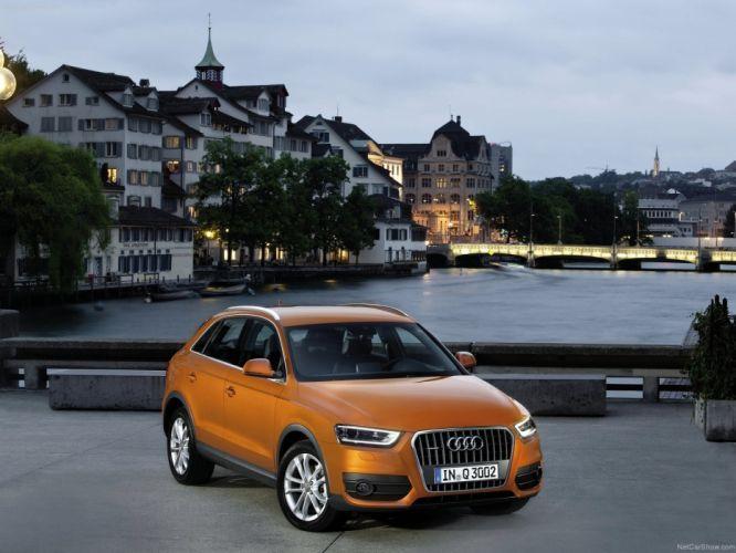 Audi Q3 2012 suv wallpaper