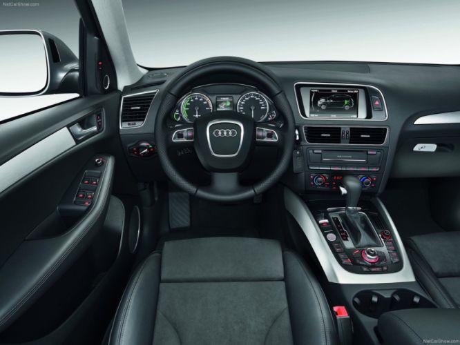 Audi Q5 Hybrid quattro suv 2012 interior wallpaper