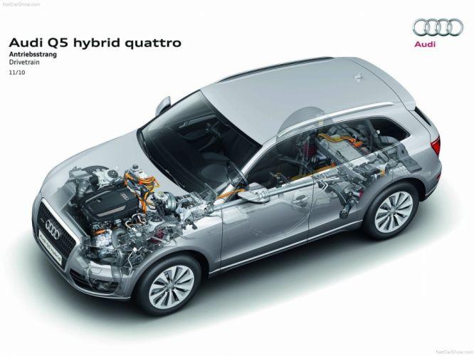 Audi Q5 Hybrid quattro suv 2012 wallpaper