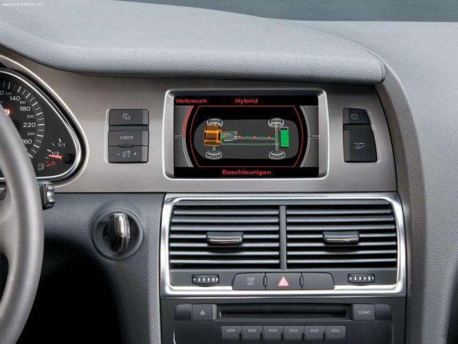 Audi Q7 Hybrid Concept v8 suv 2005 interior wallpaper