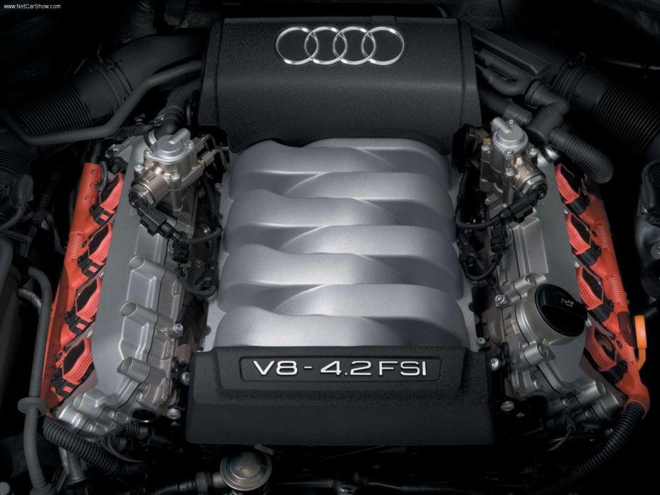 Audi Q7 Hybrid Concept v8 suv 2005 engine wallpaper