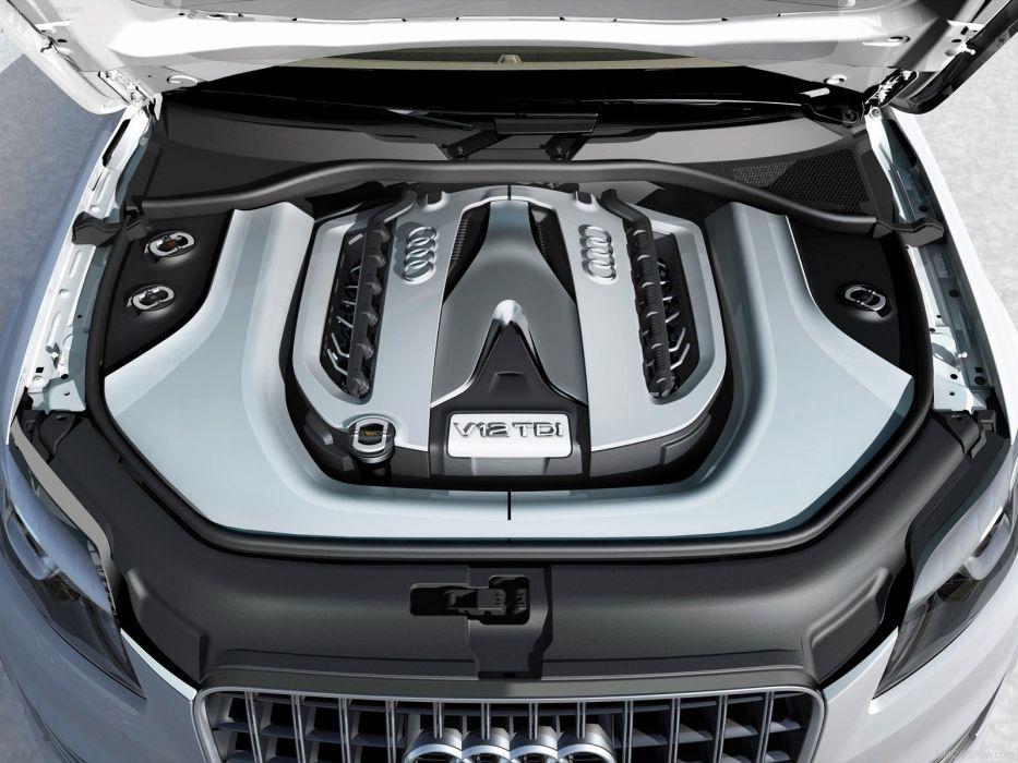 Audi Q7 V12 TDI Concept 2007engine wallpaper